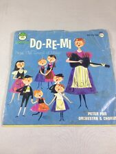 "Do-Re-Mi From the Sound of Music Vintage 45 7"" Record Peter Pan Records"