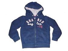 H & M tolle Sweat Jacke Gr. 98 / 104 blau !!