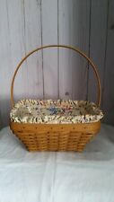 New ListingLongaberger Easter Basket 2003 Edition with liner and protector