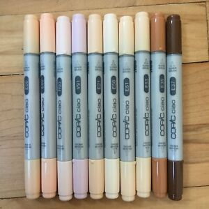 Copic Ciao Skin Tone Colours