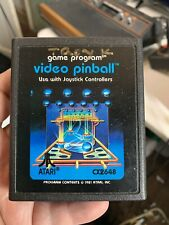 Video Pinball (Atari 2600, 1981) Tested And Working With Instructions