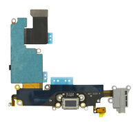 Genuine iPhone 6 Plus Black Dock Charging Port Headphone & Mic Flex ORIGINAL