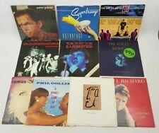 "10 x Vinyl 7"" Singles Job Lot Bundle Peter Gabriel Super Tramp The Art of Noise"
