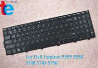 Inspiron 5555 5558 5748 5749 5758 Laptop Black Backlit Keyboard For Dell G7P48