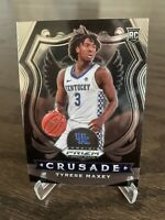 2020 Prizm Draft Tyrese Maxey Rookie RC Card Crusade Philadelphia 76ers