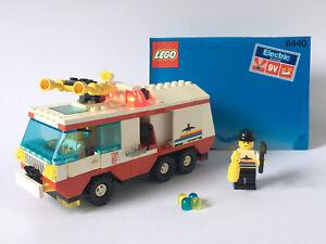 Vintage LEGO Town 6440 Jetport Fire Squad (1991) 9V Light & Sound Complete