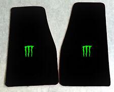 Autoteppich Fußmatten Dodge Viper SRT10 Monster neongrün 2teilig Velours Neuware