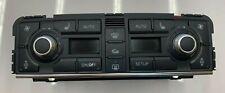 2004-2010 AUDI A8 A8L S8 - AC HEATER CLIMATE CONTROL DASH UNIT SWITCH 4E0820043D