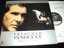 "PRESUMED INNOCENT<>HARRISON FORD<>2X12"" Laserdiscs<>WARNER 12034"