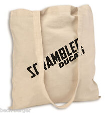 DUCATI Scrambler Sac Sac en tissu Sac À Shopping coton neuf