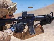 Guerra militar Ejército Soldado Pistola Rifle Guerra Marina Bala disparar Poster Print BB3381B