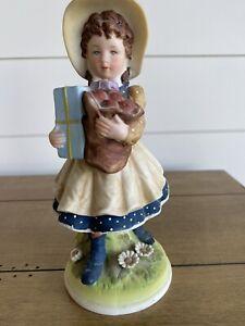 "Holly Hobbie 1973 8"" Figurine"