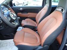 Erneuert Set Farbe Braun Sitzwangen Leder Fiat Abarth Erneuert Inner 500