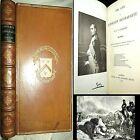 1886 NAPOLEON BONAPARTE J.G. LOCKHART LEATHER FRANCE WAR MILITARY PHOTO ILLUS