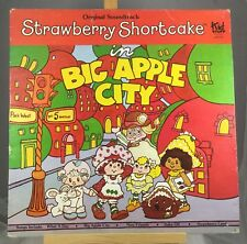 "Kid Stuff Original Soundtrack Strawberry Shortcake ""Big Apple City"" Vinyl LP"
