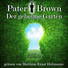 Krimi Hörbuch Pater Brown - Der geheime Garten  2CDs