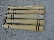 "5 Rod Building Wrapping Vintage 8"" long wooden handles"
