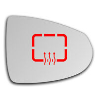 Right Side Clip On Heated Mirror Glass for Chevrolet Volt 2011 - 2019 0566RSHP