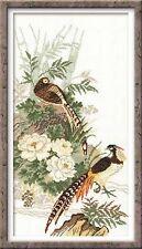 RIOLIS 929 Uccelli orientali Kit Per Ricamo Contato