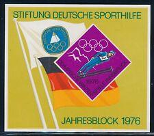 Germany - Innsbruck Olympic Games MNH Label Souvenir Sheet (1976)