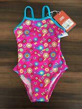 Zoggs Bambine Costume Da Bagno Set Beach Wear Set, Flora Yaroomba, Taglia 3 anni REGNO UNITO
