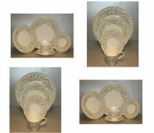 Four 5 Pieces  Place  setting Toscana pattern Gien NEW