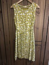 White Stuff Ladies Size 8 Sought After Lime Unusual Dress Quirky