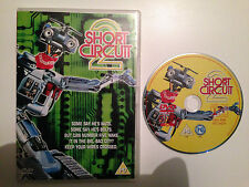 SHORT CIRCUIT 2 DVD - JOHNNY FIVE - 90S CULT KIDS/FAMILY MOVIE - FREE POST