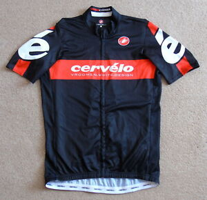 """EXCELLENT CONDITION CERVELO JERSEY. CASTELLI LARGE 38"""" CIRCUMFERENCE"""
