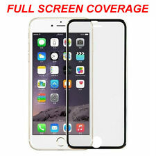 Edge-to-Edge Tempered Glass Film Screen Protector for Apple iPhone 7 - Black
