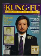 Kung Fu Masters magazine Aug 1993 Robert Lee