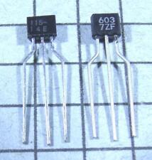 2SA1115 & 2SC2603 :  A1115 / C2603  : TO92S : 2 pair per Lot