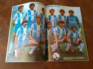 FC Porto  central poster 1985 champion of Portugal comic magazine vintage soccer