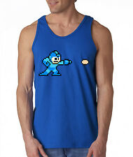 "Megaman Classic Nintendo Nes ""Throwback"" , T-shirt MANY COLORS TANK TOP"