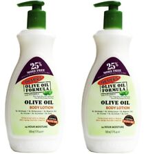2 x PALMERS 500mL BODY LOTION OLIVE OIL FORMULA WITH VITAMIN E 24HR MOISTURE NEW