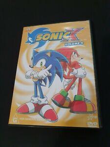 Sonic X Volume 2 DVD - Cartoon Video Game TV Show Episodes