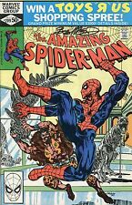 THE AMAZING SPIDER-MAN #209 SIGNED BY ARTIST BOB McLEOD (LG)