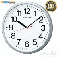 SEIKO Clock KX230S Radio wave analog Silver metallic from JAPAN NEW