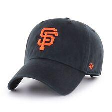 MLB San Francisco Giants Cap Basecap adjustable Baseballcap cleanup schwarz Logo