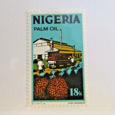 NIGERIA Sc# 300a * MH 18k Palm Oil Industry, postage stamp