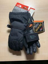 Womens The North Face Black Montana Ski Gloves GTX Size XS E-Tip
