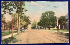 Antique Postcard 1912 South Main Street Paris Texas