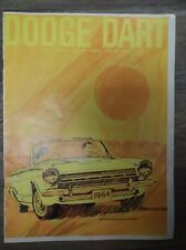 Original Vintage 1964 Dodge Dart GT 270 170 Series Dependables Built by Dodge