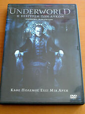 UNDERWORLD THE RISE OF THE LYCANS  DVD 2009 Widescreen  PAL FORMAT REGION 2