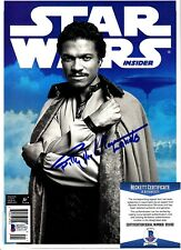 "BILLY DEE WILLIAMS Signed Autographed Magazine ""EMPIRE STRIKES BACK"" BAS #D55192"