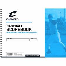 Champro Official Baseball / Softball Scorebook - Baseball Scorebook