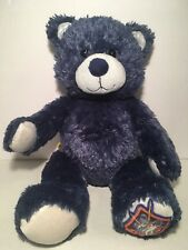 "Build A Bear Teddy Star Wars 15"" Plush Blue Silver"