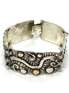 """Early William  Spratling Sterling Silver Bracelet 5. 3/4 """""""