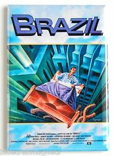 "Brazil FRIDGE MAGNET (2.5 x 3.5 inches) movie poster terry gilliam ""style B"""