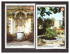 s31398) SMOM 1991 MNH**  Gardens 2v